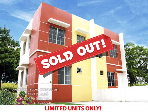 Parksville Residences Chesca Model - Pag-ibig Rent to Own Houses for Sale in Imus Cavite