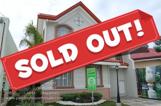 Il Giardino Residences Bianca Model - Cheap Houses for Sale Gen.Trias Cavite