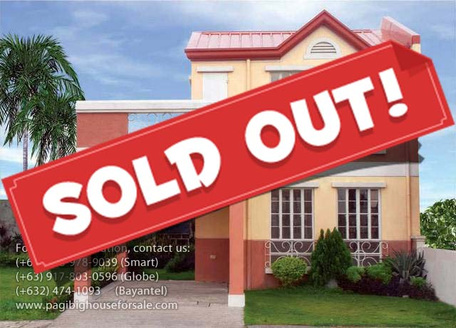 Vallejo Place Danica Model - Cheap Houses for Sale Imus Cavite