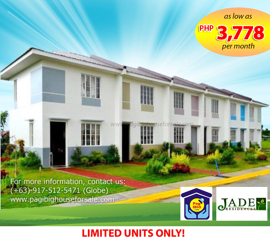 Jade Residences – Pag-ibig Rent to Own Houses for Sale Imus Cavite