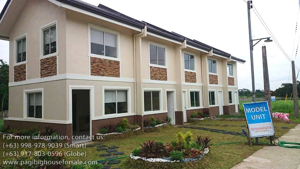 rowhouses at amaya breeze pag ibig rent to own houses