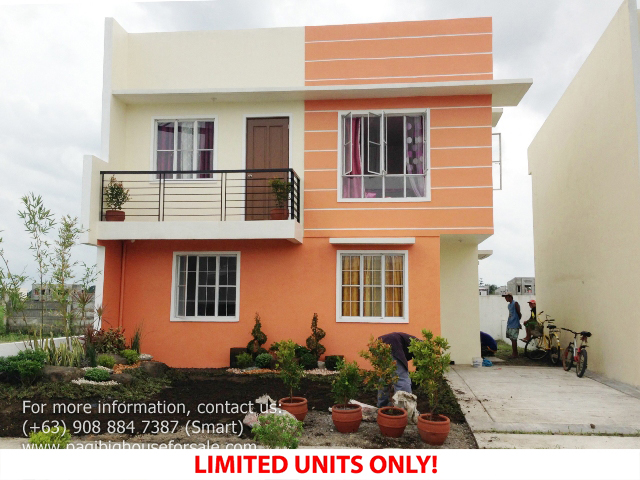 Parc Royal Era Model  –  Pagibig Houses for Sale in Imus Cavite
