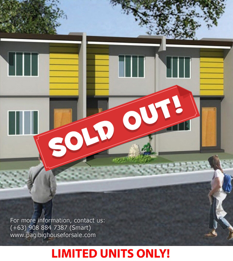 Parc Royal Gabby Model  –  Pagibig Houses for Sale in Imus Cavite