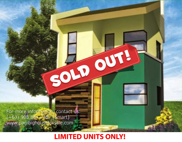 Parc Royal Felicity Model  –  Pagibig Houses for Sale in Imus Cavite