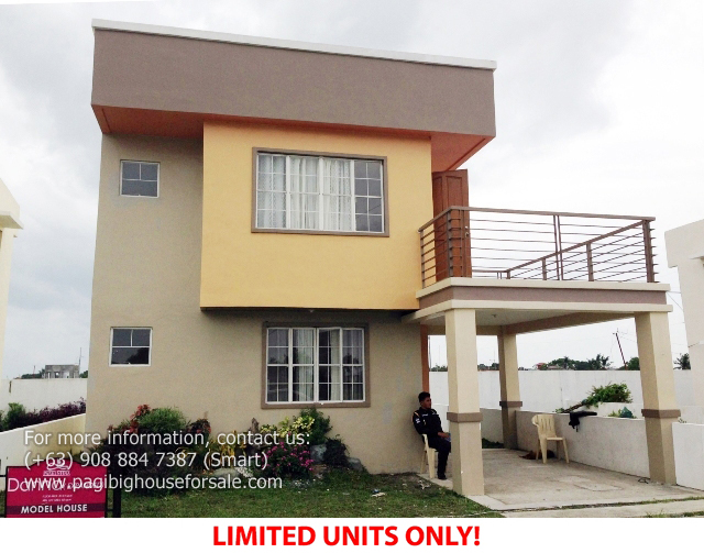 Parc Royal Danna Model  –  Pagibig Houses for Sale in Imus Cavite