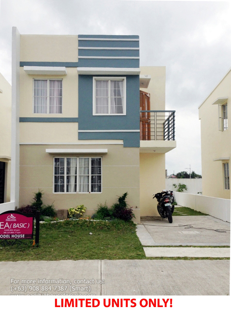 Parc Royal Bea Model  –  Pagibig Houses for Sale in Imus Cavite