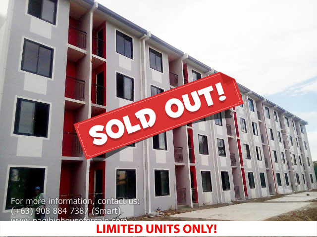 Hampton Condo 2 Bedroom –  Pagibig Condo for Sale in Imus Cavite