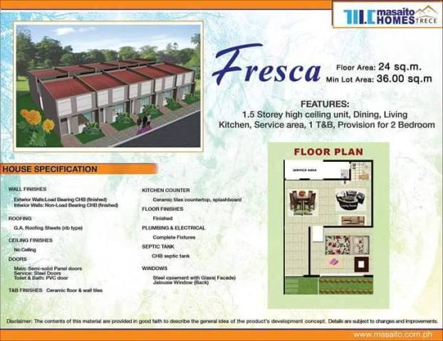 masaito homes trece fresca pag ibig rent to. Pag ibig Rent to Own Houses for Sale in Cavite Philippines