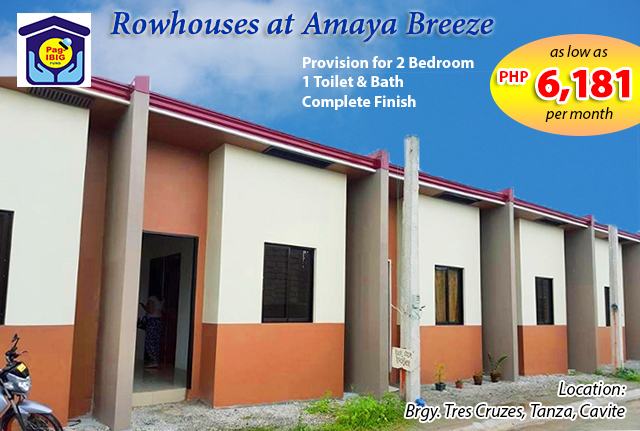 rowhouse amaya breeze