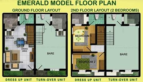emerald-residences-pag-ibig-rent-to-own-houses-sale-tanza-cavite-floor-plan