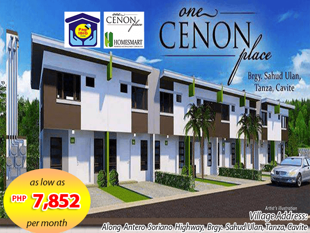 one-cenon-place--pag-ibig-rent-to-own-houses-sale-tanza-cavite-facade1