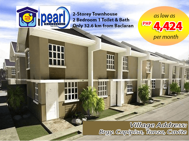 pearl residences townhouse